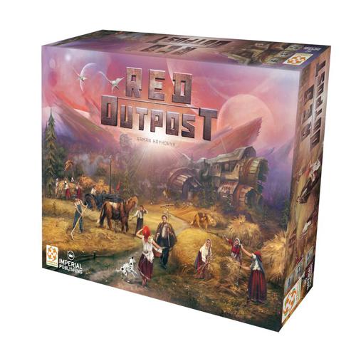 Red Outpost Board Game   Board Game   Zatu Games UK