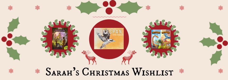 Sarah's Christmas Wishlist 2020