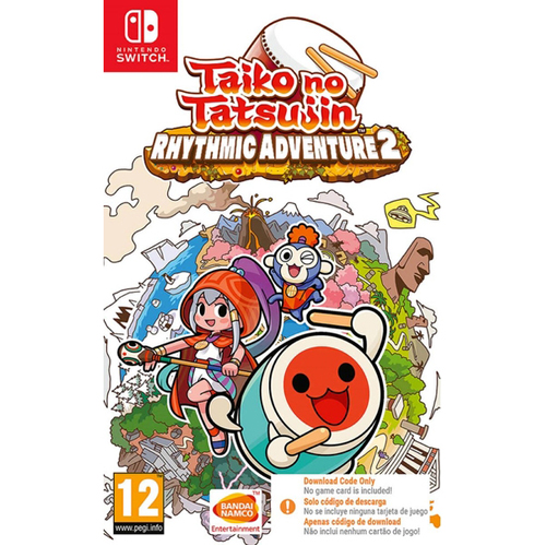 Taiko No Tatsujin: Rhythmic Adventure 2 (Code in Box) - Nintendo Switch