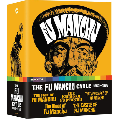 The Fu Manchu Cycle 1965-1969 (Limited Edition) - Blu-ray