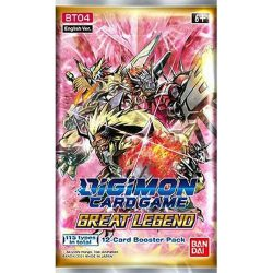 Digimon Card Game: Great Legend (BT04) Booster Pack