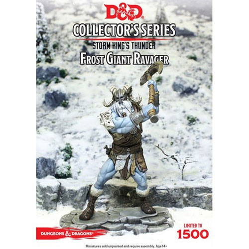 *A Grade* D&D Collector's Series Storm Kings Thunder Miniature - Frost Giant Ravager