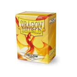 *A Grade* Dragon Shield Matte - Yellow (100 ct. in box)