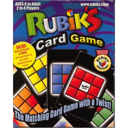*A Grade* Rubik's Match Card Game