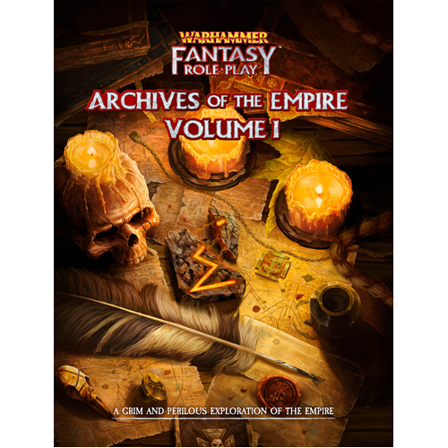 Archives of the Empire Vol 1: Warhammer Fantasy Roleplay