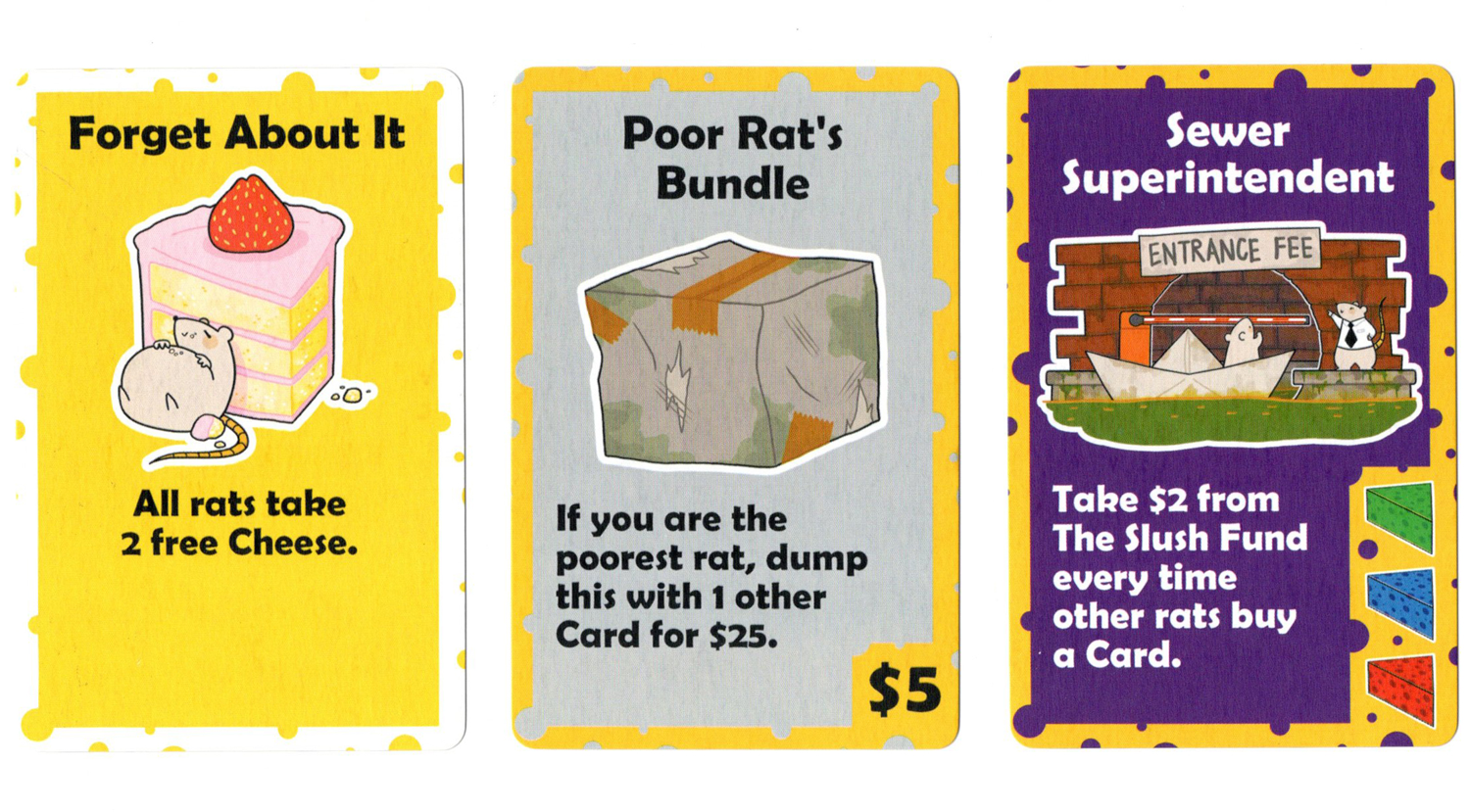 rats to riches Cards