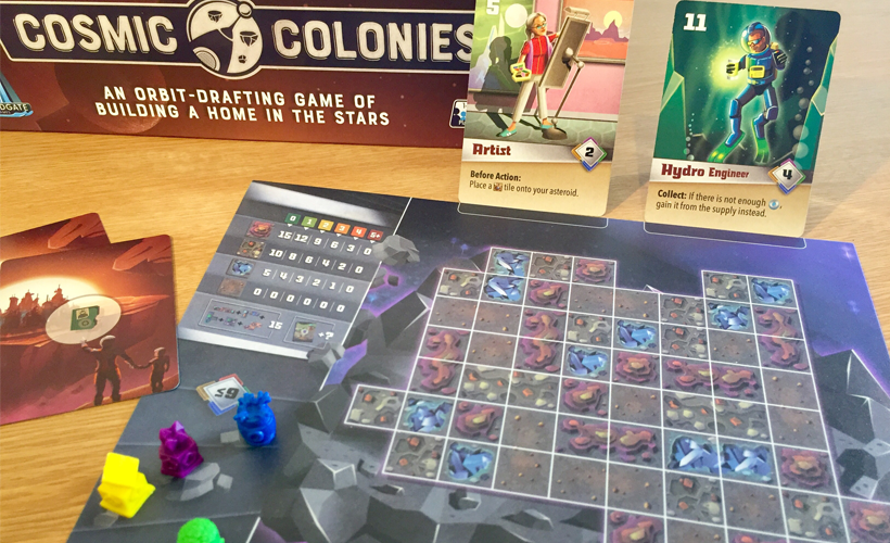 Cosmic colonies mat and grid