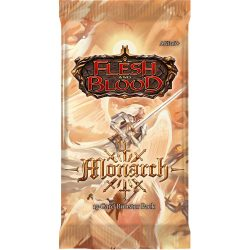 Flesh And Blood TCG: Monarch First Edition Booster Pack