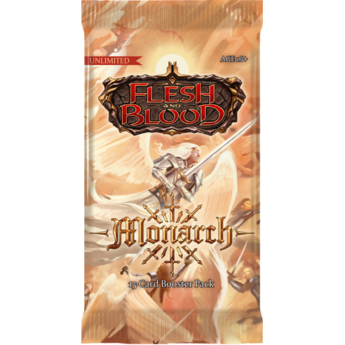 Flesh And Blood TCG: Monarch Unlimited Booster Pack