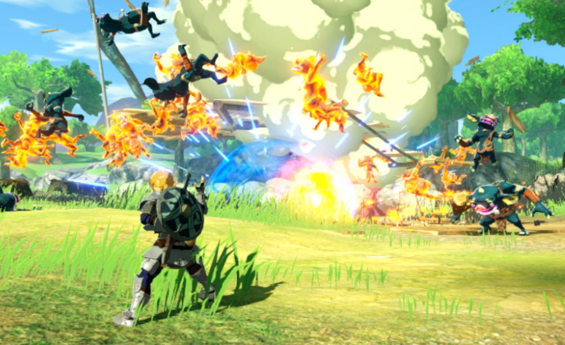 Hyrule Warriors_ Age of Calamity link combat