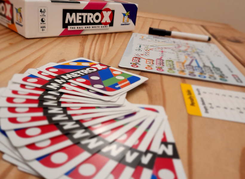 Metro X cards