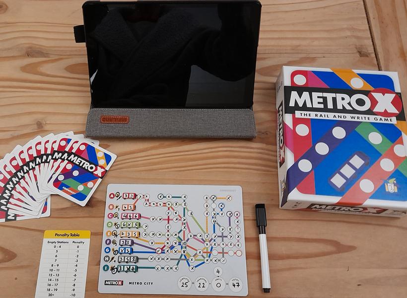 Metro X set up