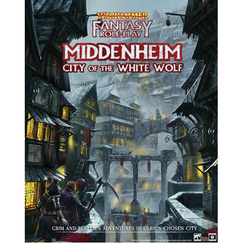 Middenheim- City of the White Wolf: Warhammer Fantasy Roleplay
