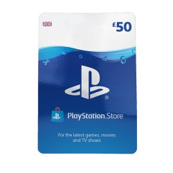 Playstation Store £50 Wallet Top-Up Card