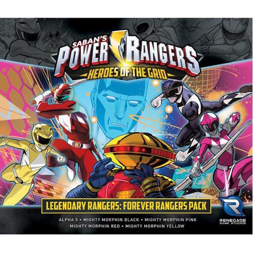 Power Rangers: Heroes of the Grid: Legendary Rangers: Forever Rangers Pack