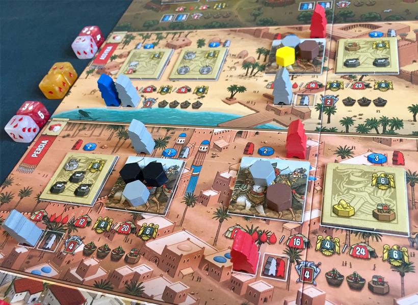 Raiders of Scythia Mid Game