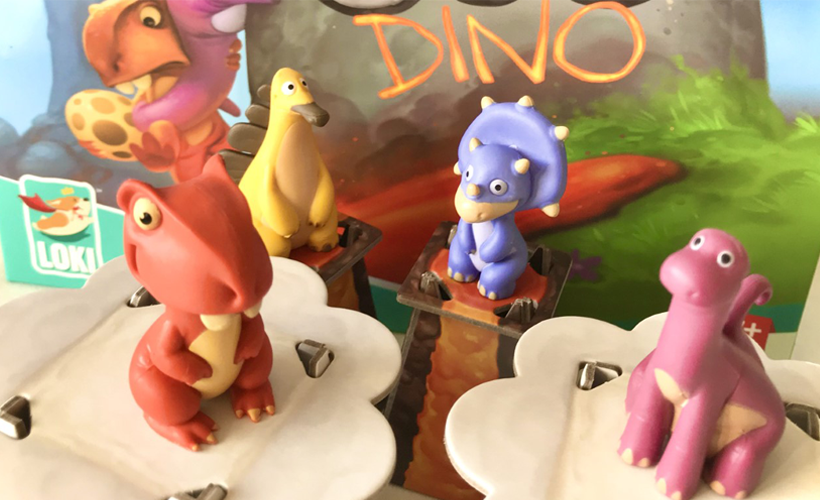 SOS dino dinosaur components