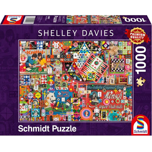 Shelley Davies: Vintage Board Games (1000 pieces)