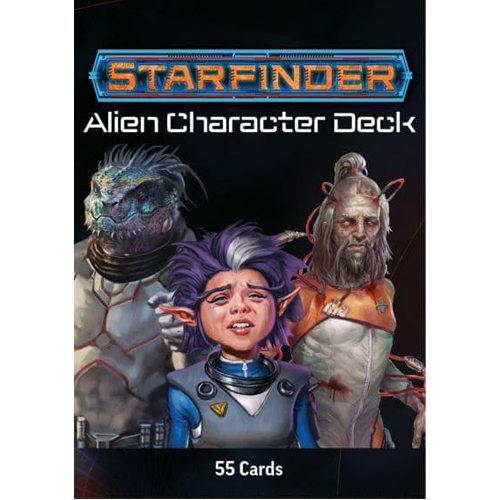 Starfinder: Alien Character Cards