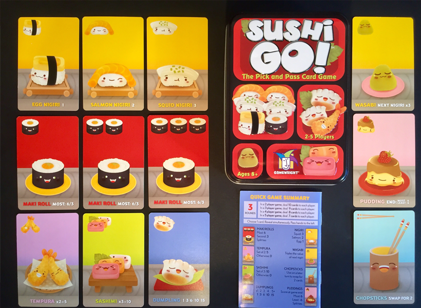 Sushi go overview