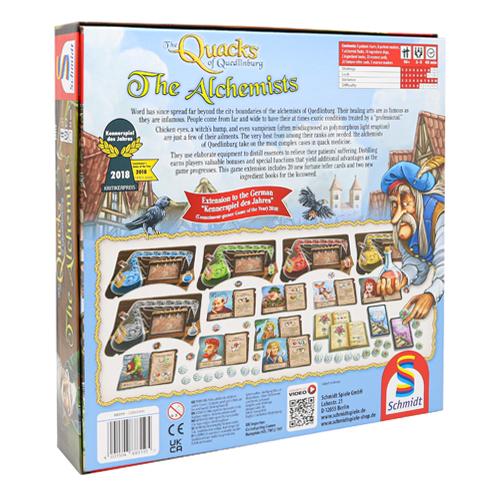 The Quacks of Quedlinberg The Alchemists Expansions