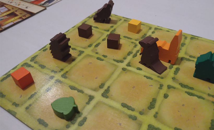 Tiny Towns Villagers Board