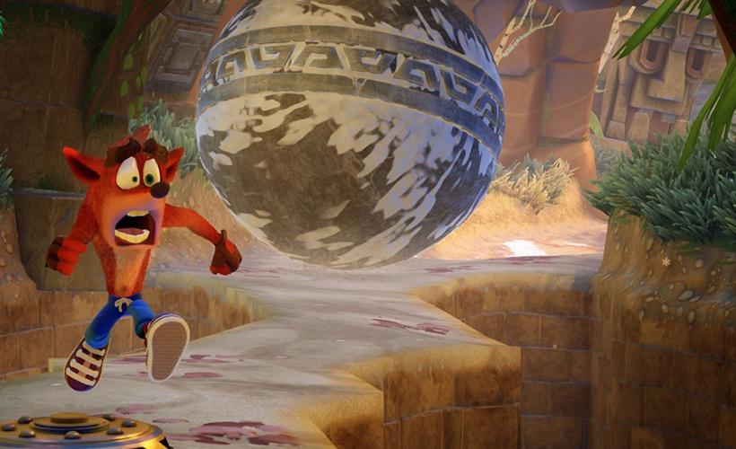 crash bandicoot n sane trilogy boulder