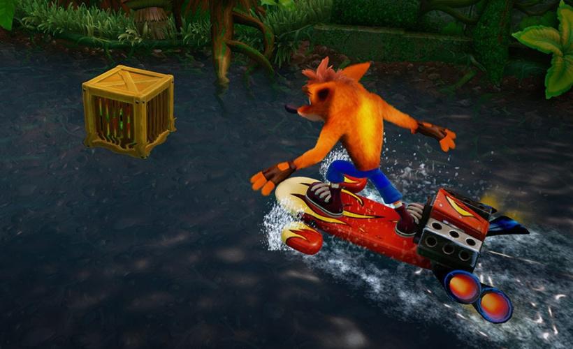 crash bandicoot n sane trilogy jet ski