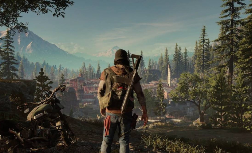 days gone scenery