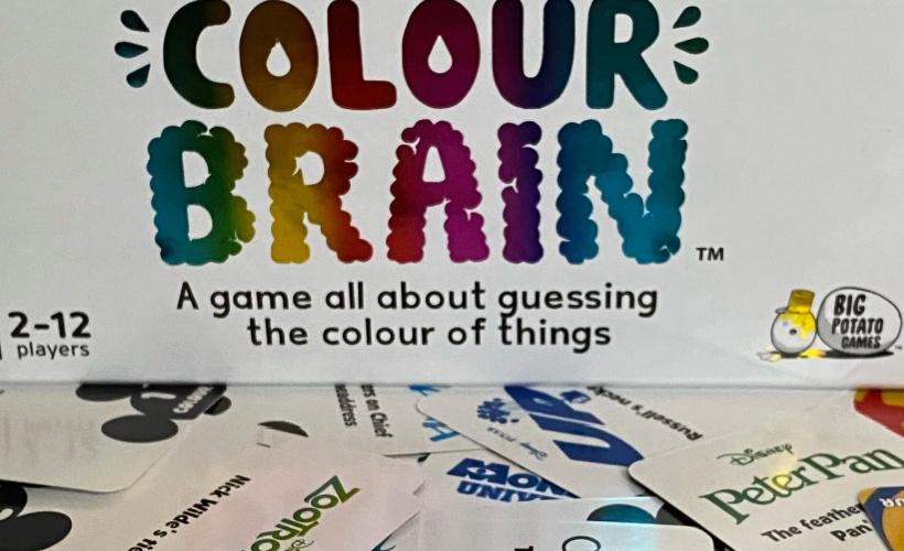 disney colourbrain box and cards