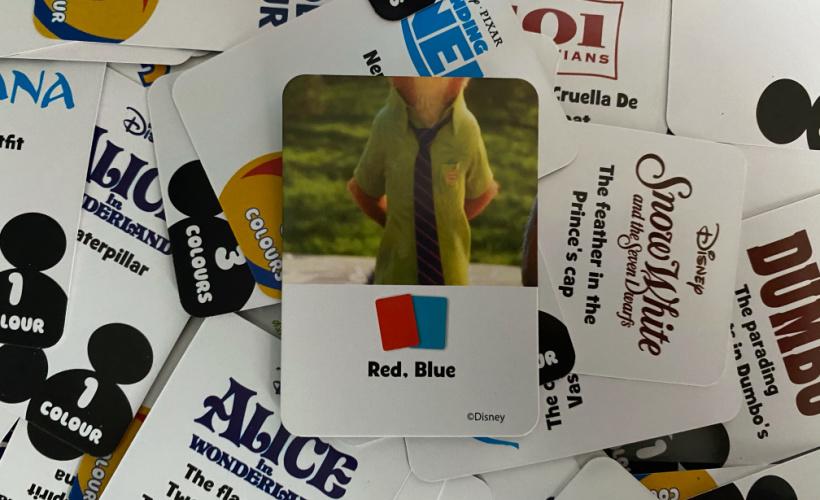 disney colourbrain card examples
