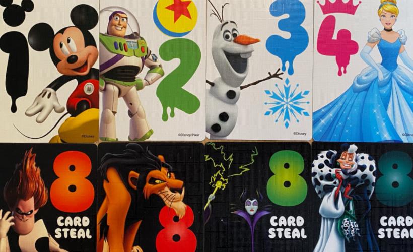 disney colourbrain character cards