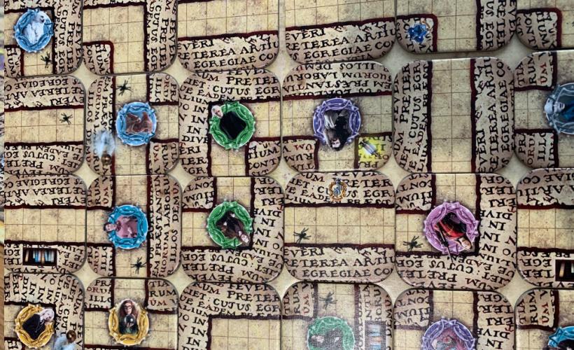 harry potter labyrinth board