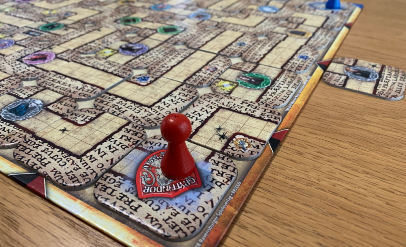 harry potter labyrinth meeple