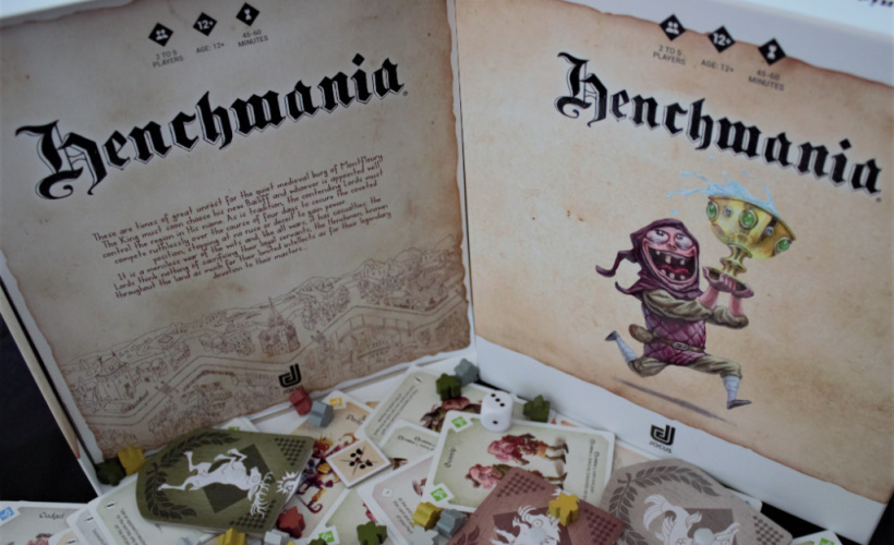 henchmania contents