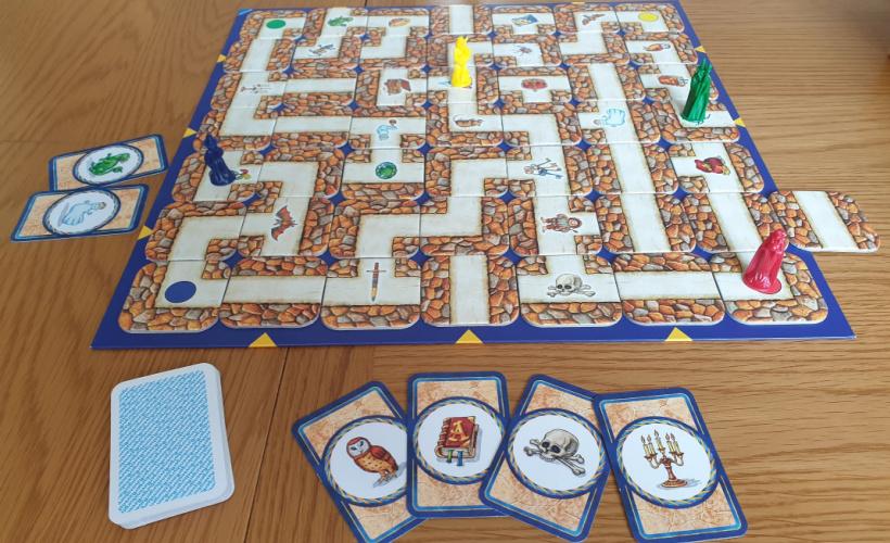 labyrinth setup