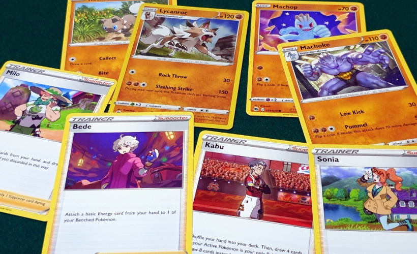 pokemon champions path box how to play action cards