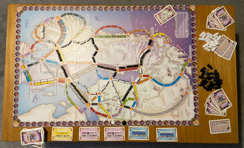 ticket to ride nordic setup