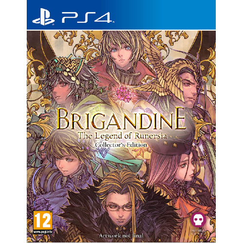 Brigandine: The Legend of Runersia Collector's Edition - PS4