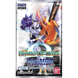 Digimon Card Game: Battle of Omni (BT05) Booster Pack