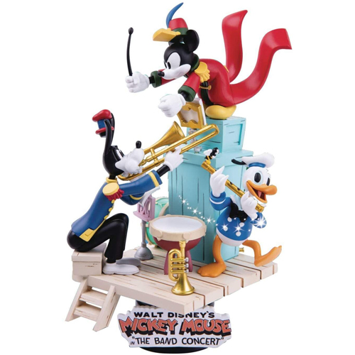 Disney D-Stage Mickey Mouse The Band Concert