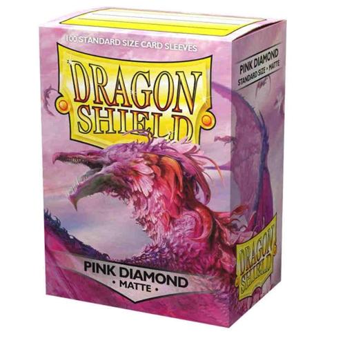 Dragon Shield Matte Sleeves - Pink Diamond (100)