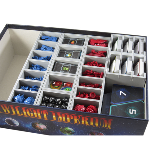 Folded Space: Twilight Imperium Prophecy Of Kings Insert