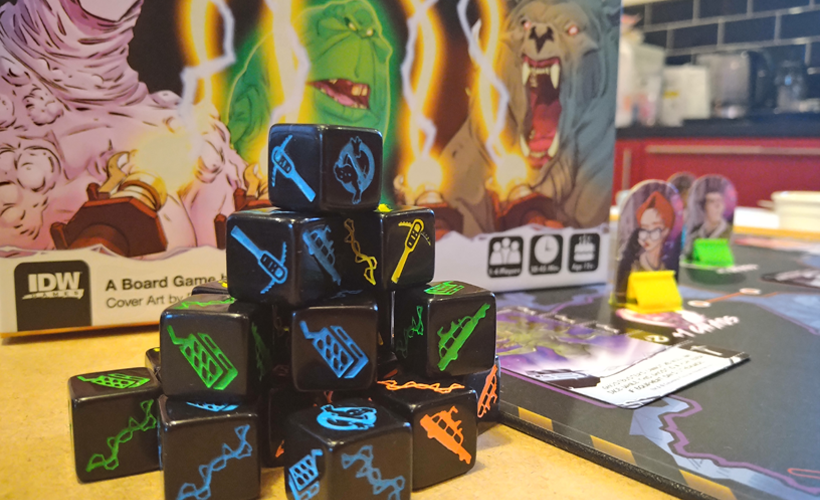 Ghostbusters blackout dice