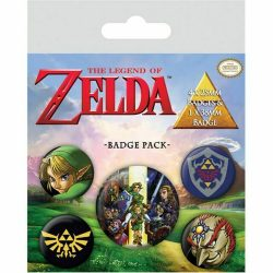 Legend of Zelda Badgepack