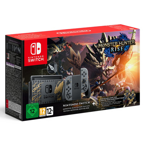 Nintendo Switch Console: Monster Hunter Rise Edition