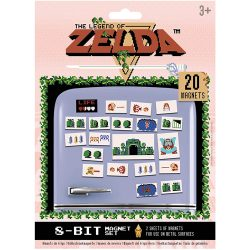 Nintendo: The Legend of Zelda Retro Magnets
