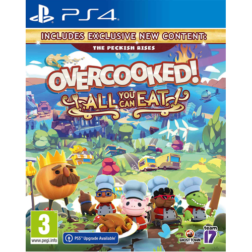 Overcooked! All You Can Eat - PS4