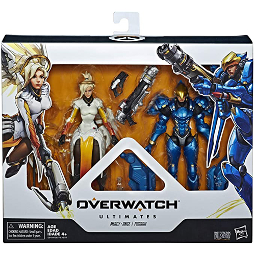 Overwatch Ultimates - Mercy and Pharah Dual Pack Action Figure 6in