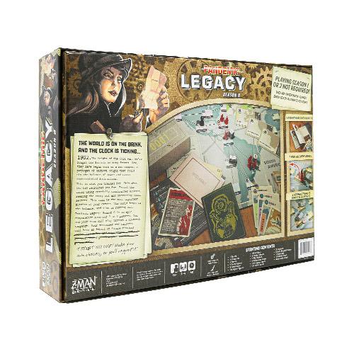 Pandemic Legacy Season Zero
